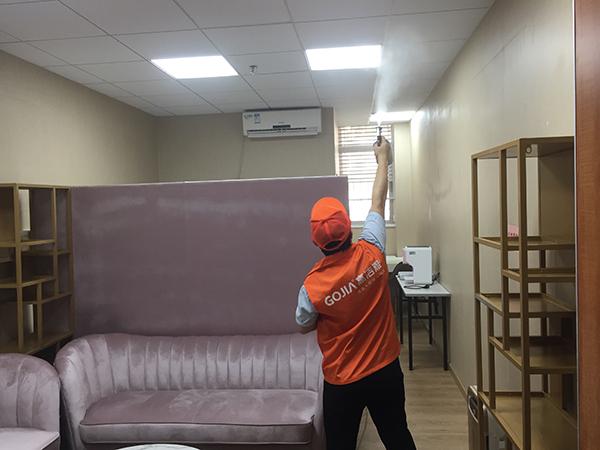 高洁雅办公室除甲醛案例:宝安中医院母婴室